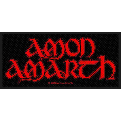 Amon Amarth - Red Logo