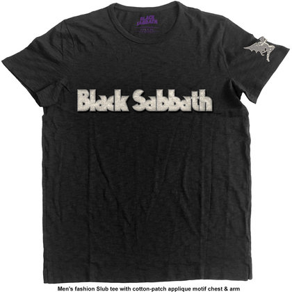 Black Sabbath - Logo & Daemon (Applique motif)