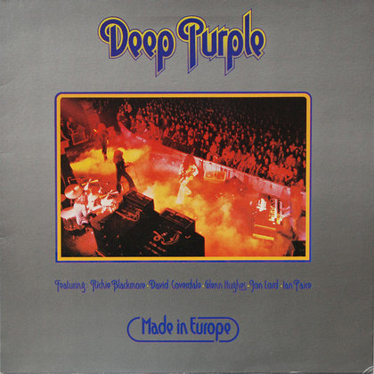 Deep Purple - Made in Europe (Limited edition)