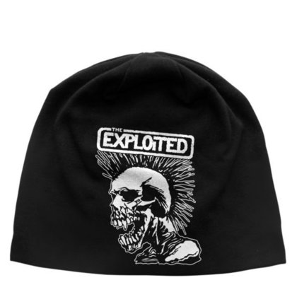 Exploited, The - Mohican Skull