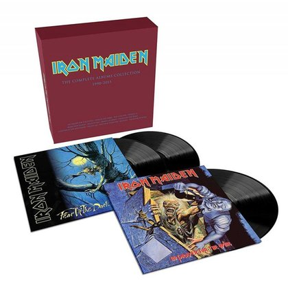 Iron Maiden - Collector´s Box - No Prayer For The Dying / Fear Of The Dark