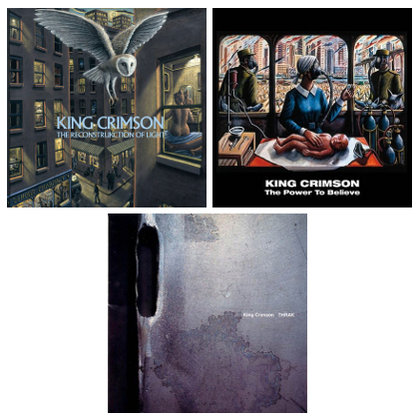 King Crimson - Thrak / The ReconstruKction of Light / The Power To Believe (Expanded) (Ettetellimine / Pre-order)