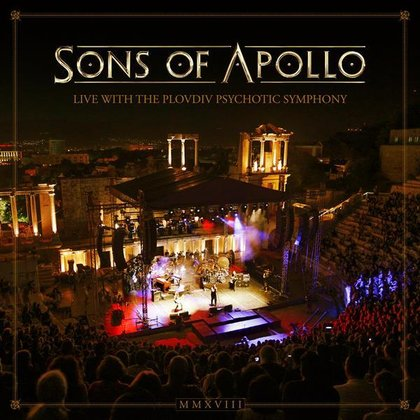 Sons Of Apollo - Live With The Plovdiv Psychotic Symphony (Ettetellimine / Pre-order)